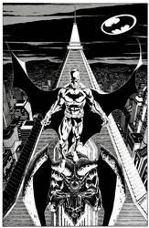 The Batman of Gotham by garnabiuth
