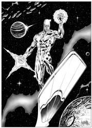 Garnabiel - The Silver Surfer by garnabiuth