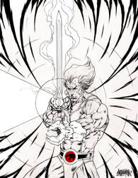 Lion-O - Eye Of Thundera - Thundercats by garnabiuth
