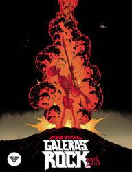 Festival Galeras Rock 2018 color by garnabiuth