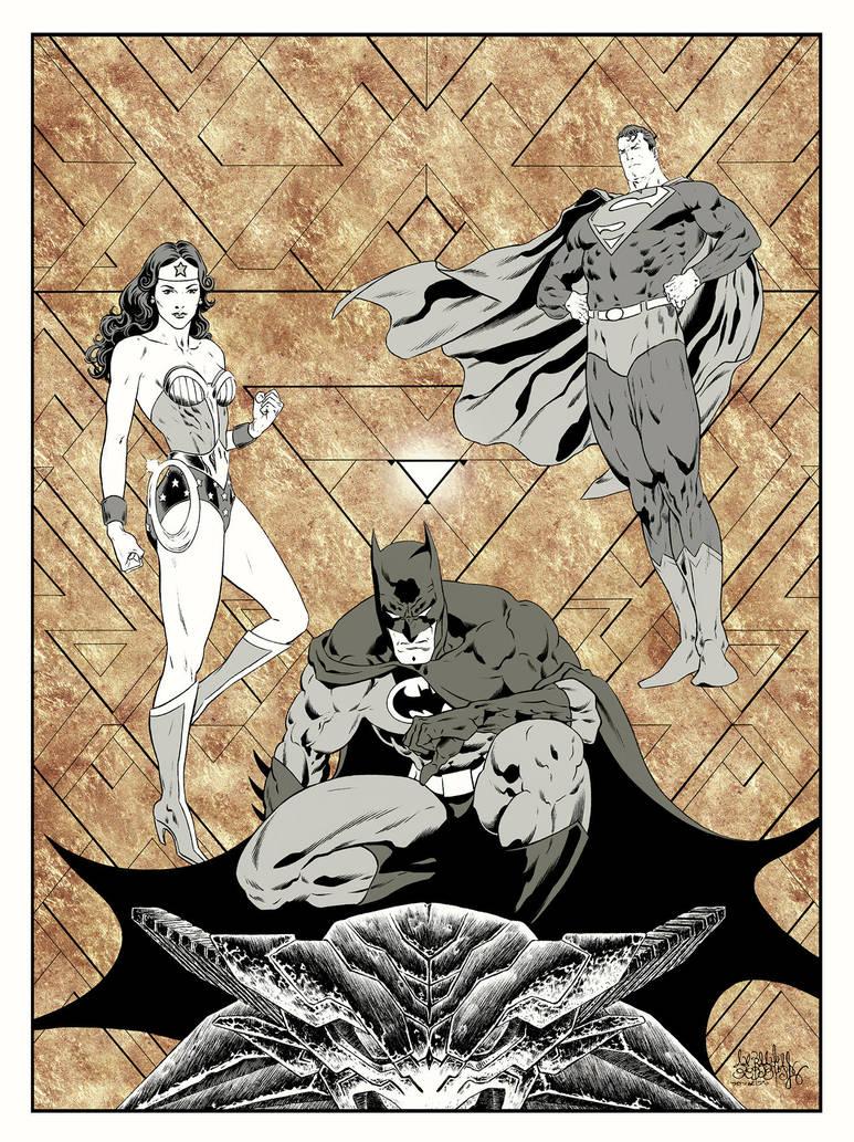 DC Trinity by garnabiuth