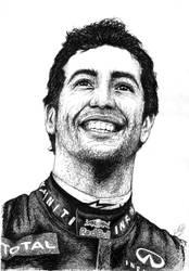 Daniel Ricciardo by ToftPilgaard