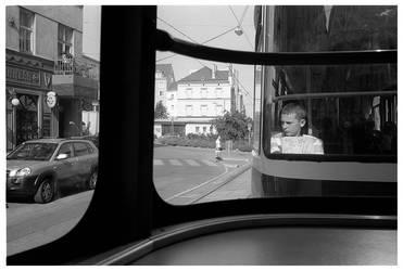 tram boy by rOoli