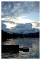 Clouds on the woerthersee by rOoli