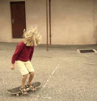 Mini skater by Piou