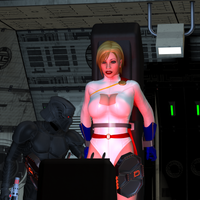 Power Girl Captured 7d: Switched On by DarkPoserGirl
