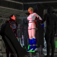Power Girl Captured 16d: Unconscious by DarkPoserGirl