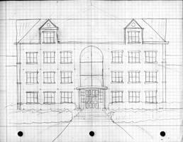 NCC: Apartment Building sketch by Kitschensyngk