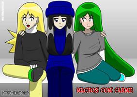 NCC: Three Girls by Kitschensyngk
