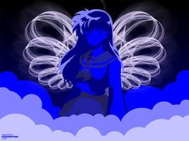 Blue Wings by Kitschensyngk