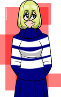 Striped Sweater Dress by Kitschensyngk