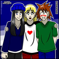 Yay Friends! by Kitschensyngk