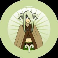 Aries button by Kitschensyngk