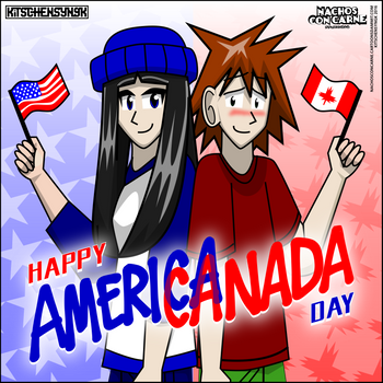 Happy AmeriCanada Day! by Kitschensyngk