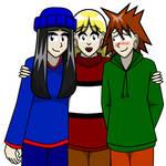 Yay Friends Redux by Kitschensyngk