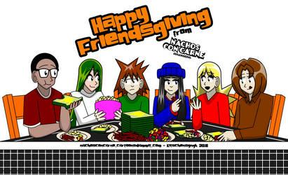 Happy Friendsgiving by Kitschensyngk