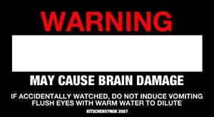 Bad Movie Warning Label by Kitschensyngk