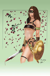 Gladiator Girl by ThePrincessNightmare