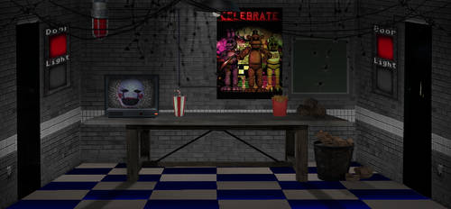 Five Nights At Chernobyl OFFICE by rendition46