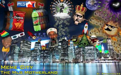 MEME CITY: The Meme Motherland by rendition46