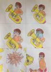 Velma Tuba Comic by puffedcheekedblower
