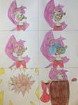 Shantae Trumpet Comic by puffedcheekedblower