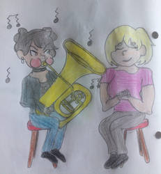 The Orchestretts: Chapter 8: Part 2 Illustration by puffedcheekedblower
