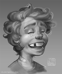 laughing boy by sparrow-chan