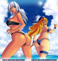 MADELINE Summer Time 2 Collab by Devil-V