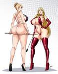 Reina and Leona by Devil-V