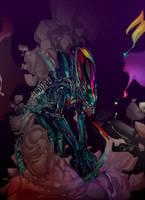 xenomorph by Gambear1er
