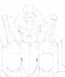 Gundam Concept 1 by Kigetski