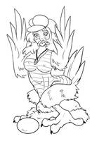 Sketchathon - Wrenzephyr2 Chicken TF by JitenshaSW
