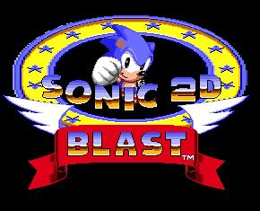 Sonic 2D Blast Title Screen by Ivol-Robot