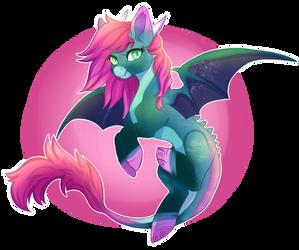 Dragon Pony RAFFLE (closed) by Cabbage-Arts