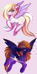 Pony OCs by Cabbage-Arts