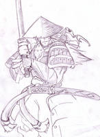 Samurai by I3L4K-W0LF