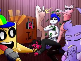 Draw the Squad: Super Planet Dolan by GirlyRainbowVampire