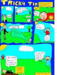 Tricky Tim 1 pg 1 COLOR by Jsb97