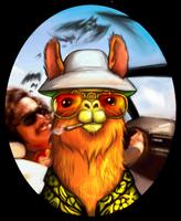 Raoul Duke Llama by hurikan