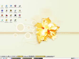 Desktop by xbi0nic