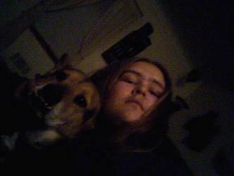 me and a dog by Jaffar8