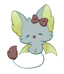 Batty Fluff from OpaliteStar by KikiRuvein