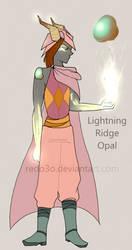 Lightning Opal By Redo3o by KikiRuvein