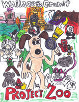 Wallace and Gromit in Project Zoo by SonicClone