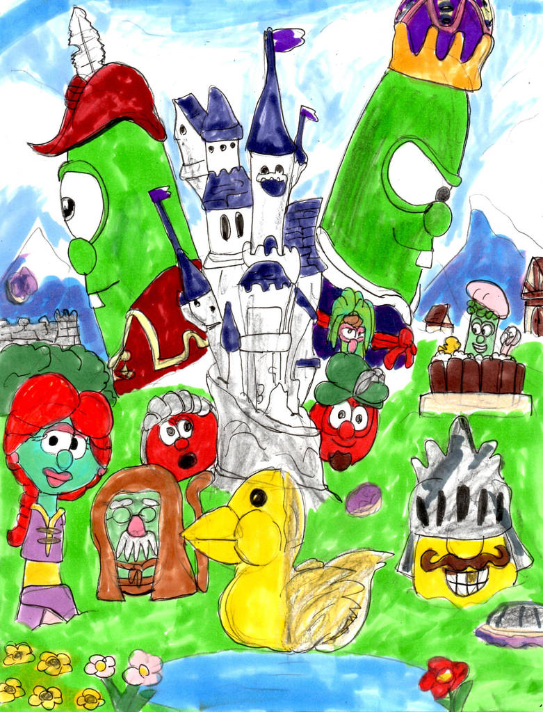 Veggietales Ducky Duology By Sonicclone On Deviantart