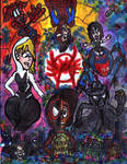Spider-Man into the Spider-Verse by SonicClone