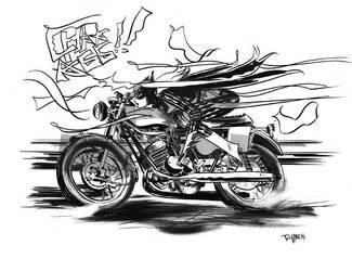 Ride BATGIRL by TCypress