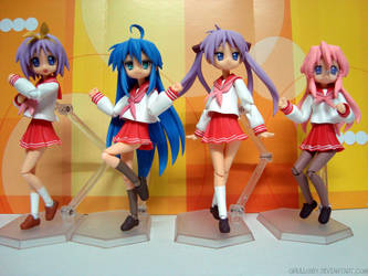 Dance To The Beat Lucky Star by qrullgx13