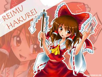 Reimu Hakurei by qrullgx13
